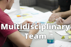 Multidisciplinary Team - 6x4 - Text