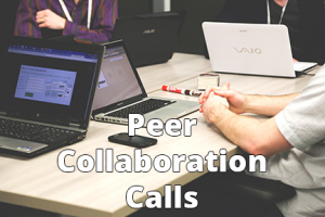 Peer Collaboration Calls - 6x4 - Text